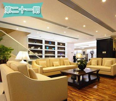 杭州土豪装268平奢华跃层 走廊装成博物馆
