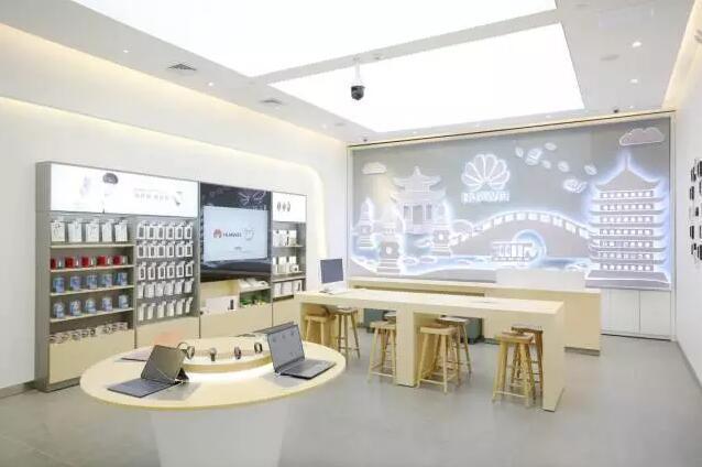 """in77D区要开一家华为授权体验店,能体验全线产品,还有3D人脸扫描、动态VR……各种""""黑科技""""专区"""