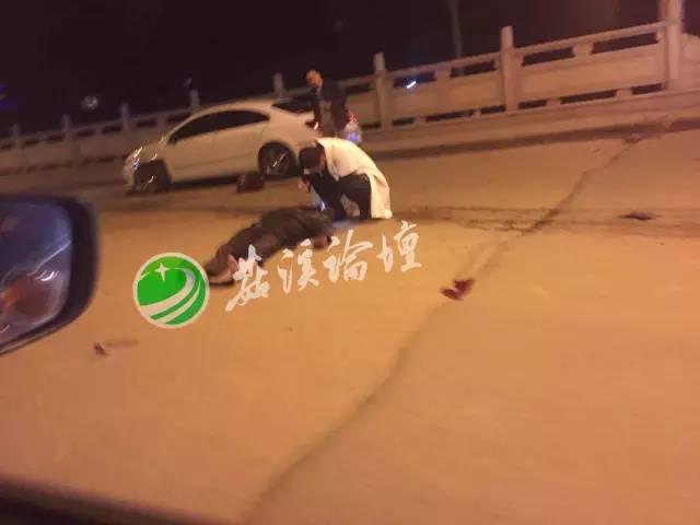 昨夜永嘉桥头发生恐怖交通事故 有人当场死亡