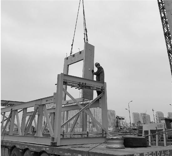 杭州新型造房:流水线上生产 现场只要搭积木