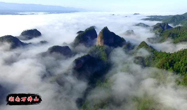 你听说过这座三色圣山吗?