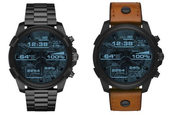 时尚品牌Diesel发布首款智能手表