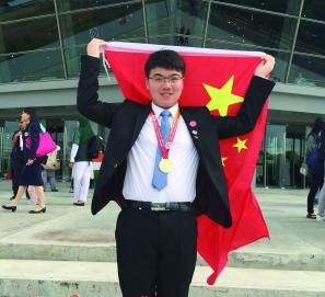 杭州小伙捧回国际化学奥赛金牌 学习秘诀:回归课本