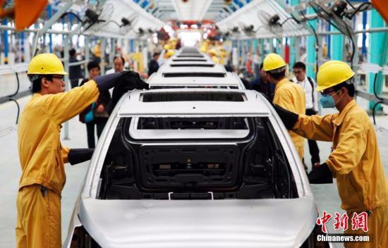 """中国汽车产业仍处于""""绿灯区"""" 产业增速放缓"""
