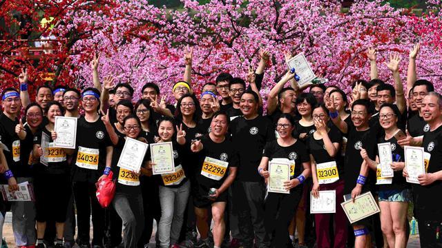2018横店马拉松4月1日激情开跑 用汗水挥洒青春