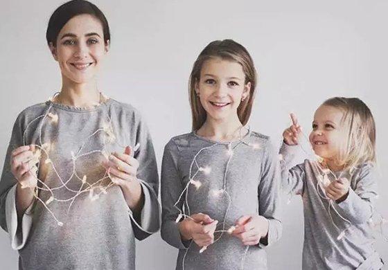 原来生两个女儿 才是人生赢家!
