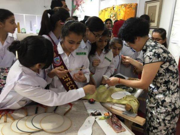 江南的丝瓷茶在巴基斯坦受热捧 展示和体验持续到月底