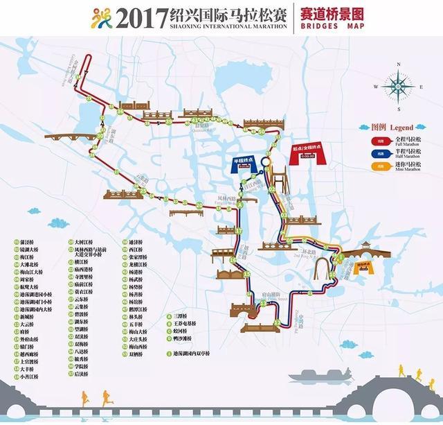 腾讯大浙网请你到绍兴古城跑一场文化味最足的马拉松