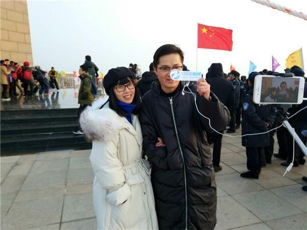 2018曙光节在温岭举行 万名游客共迎新年曙光