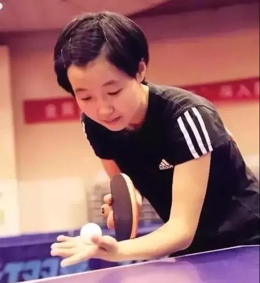 入选乒乓球国家队 00后女孩创造富阳历史