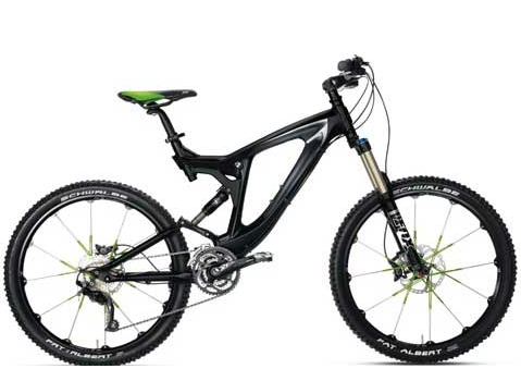bmw全地形山地自行车