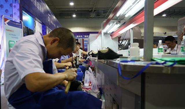 温州市鞋类职业技能竞赛圆满闭幕