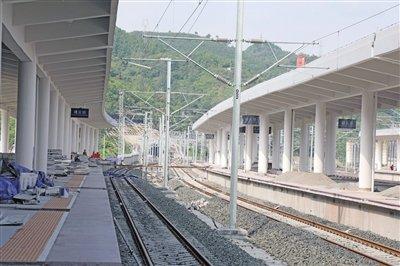 遵义新火车站建设如火如荼