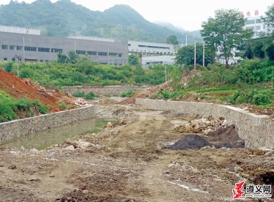 柳溪河改造后河水逐步恢复清澈 居民称赞
