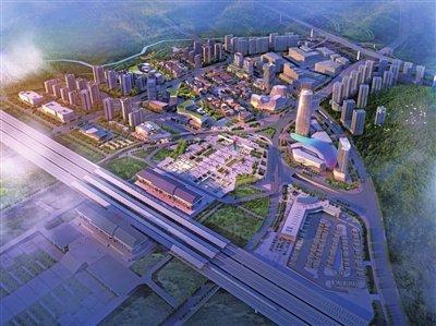 遵义高铁新城一期项目主体工程已100%完工