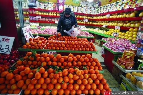 水果价目表_菜篮价格趋平稳春节效应水果价格涨三成_大申网_腾讯网