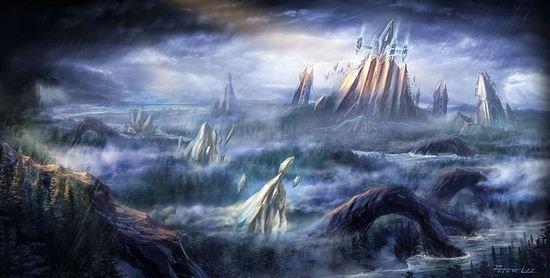 暴雪官方畫廊新圖還記得外域的風景嗎?