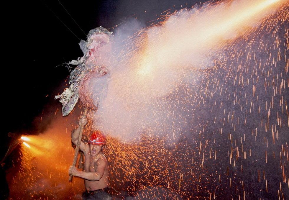 钢火烧龙-米跃进