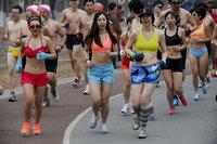 2013奥森光猪跑举行
