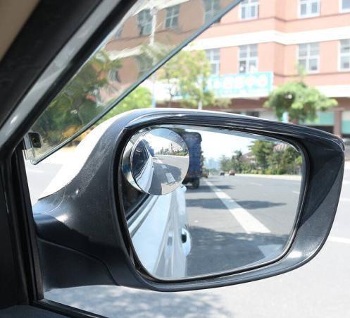你肯定不知道,汽车后视镜上的小圆镜竟然有这么大作用