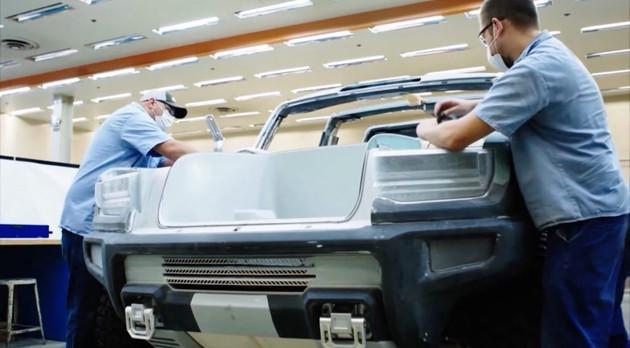 續航640km 悍馬EV將于10月20日發布