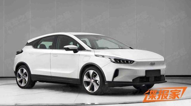 跨界造型设计 吉利汽车几何品牌第二款车型曝光