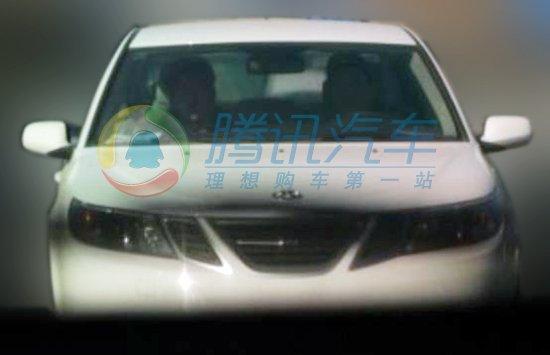 Saab 9-3 EV in Chinese police