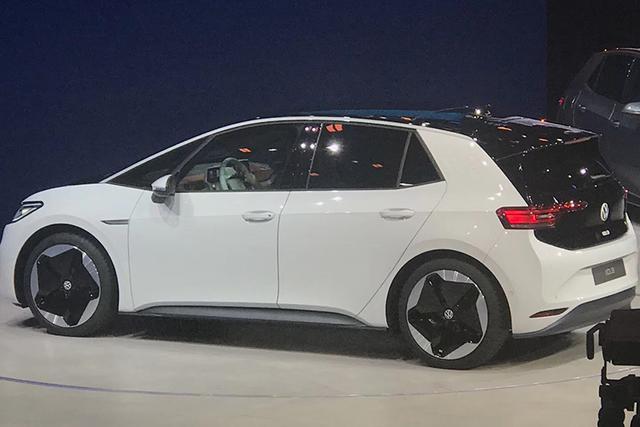 新车来了:3种续航版本 大众ID.3纯电动紧凑车首发
