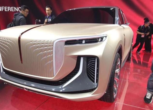 红旗SUV概念车  法兰克福车展首发