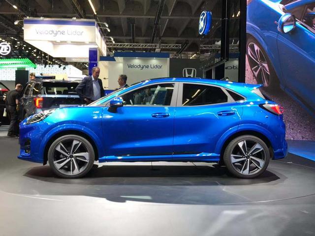 新车来了:年轻化风格 福特PUMA全新小型SUV首发