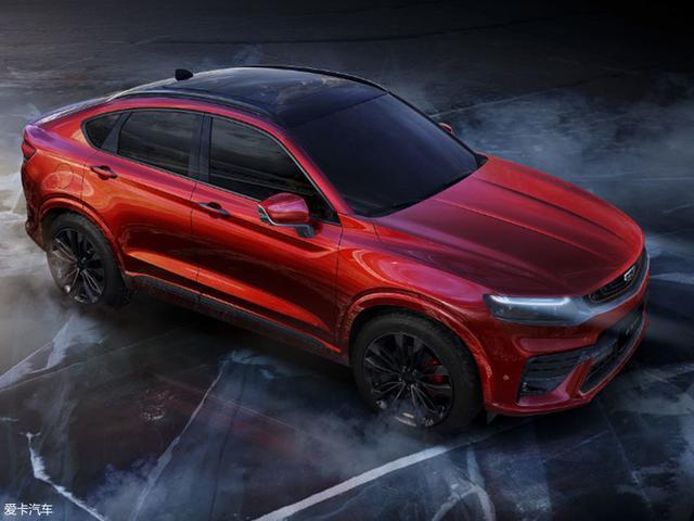 吉利汽车全新紧凑型轿跑SUV吉利星越:3月25日晚正式发布