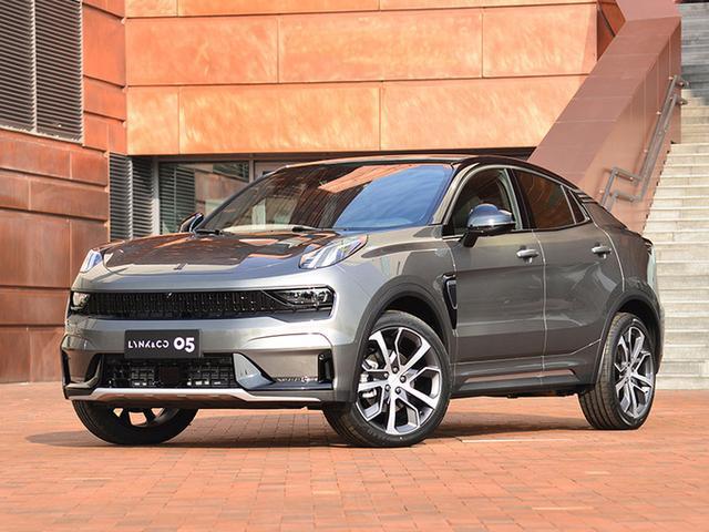 起售價20萬左右 領克05轎跑SUV明年3月上市