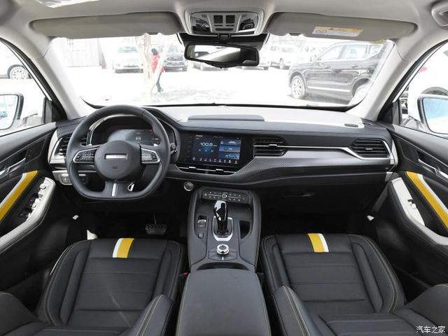 长城汽车 哈弗F7x 2019款 2.0T 四驱极智运动版