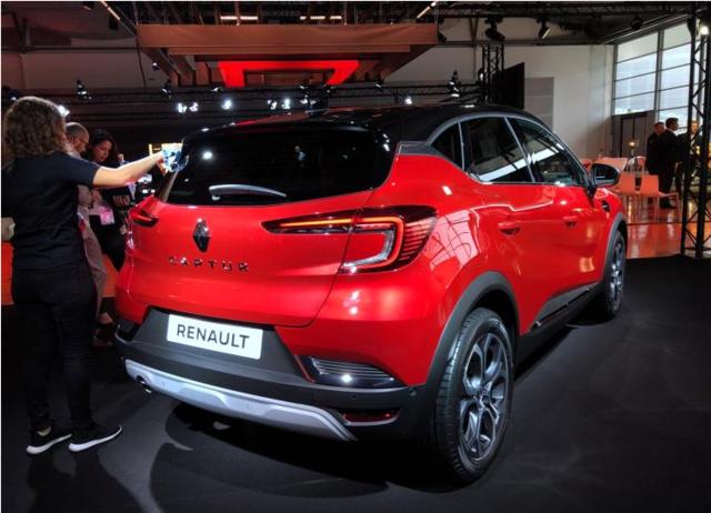 雷诺 卡缤 插电式混合动力版本 法兰克福车展首发