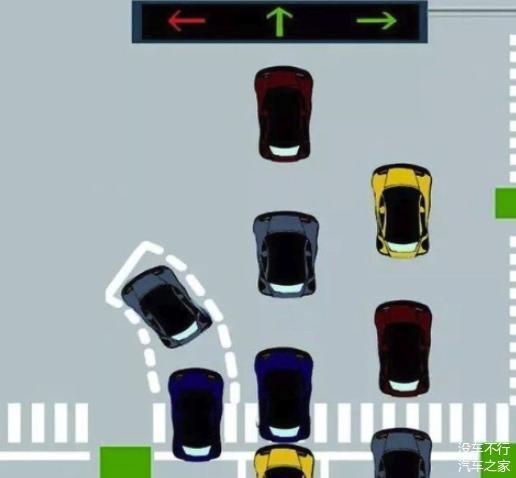 左转待转区行驶准则是怎样的 什么时候转才正确