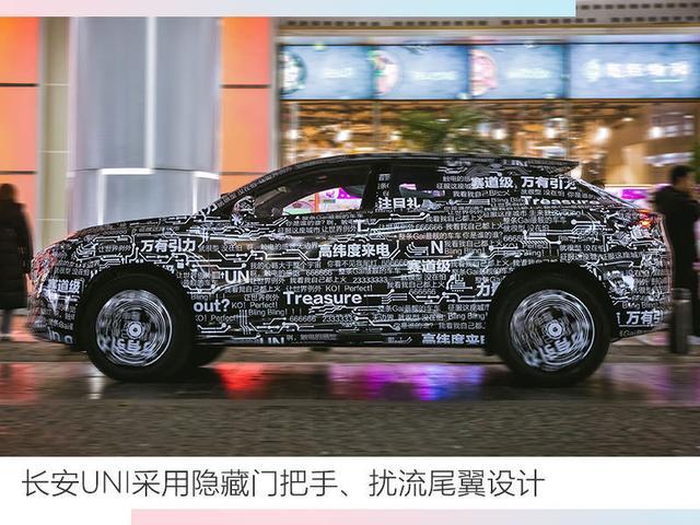 長安全新轎跑SUV定名UNI 3月3日瑞士首發
