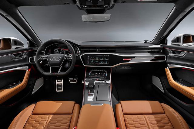 新奥迪RS6 Avant亮相 4.0升双涡轮增压V8发动机