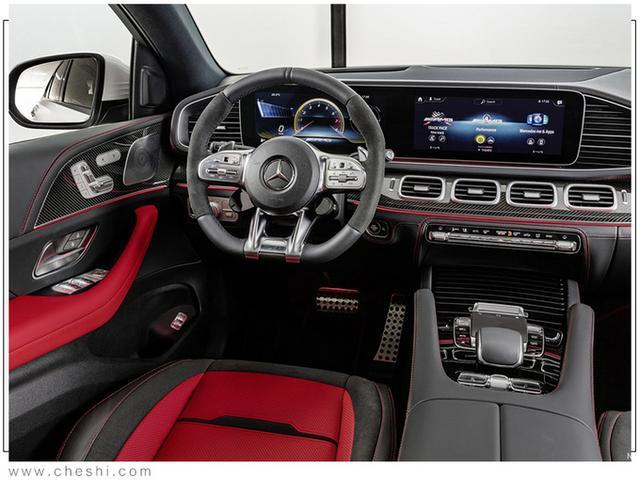 梅賽德斯-AMG新GLE轎跑曝光 搭3.0T引擎明年上市