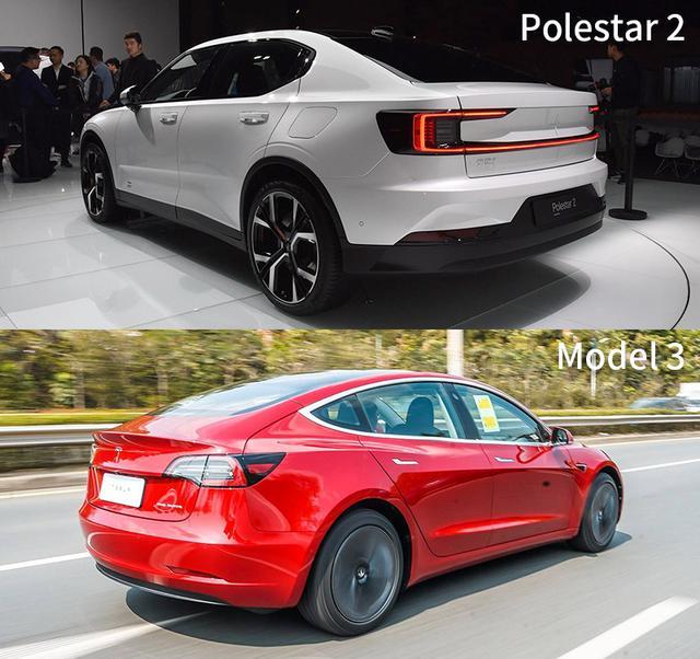 特斯拉仅这一点称得上是优势? Polestar 2全面对比Model 3