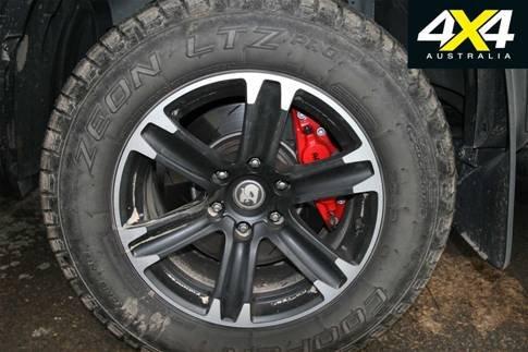 2018 HSV库罗德SportsCat装载固铂轮胎