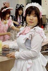 日本咖啡女仆大赛可爱妹子吸引宅男目光