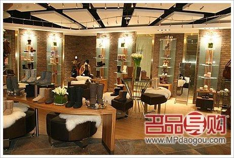 ugg专柜_UGG中国唯一专柜雪地靴价格揭秘_逛商场_大成网_腾讯网