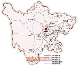 四川地图高清版最新