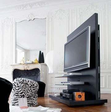 玻璃旋转电视机