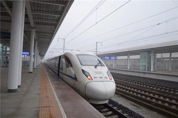 成贵铁路乐山至兴文段运行试验 离正式开通再近一步