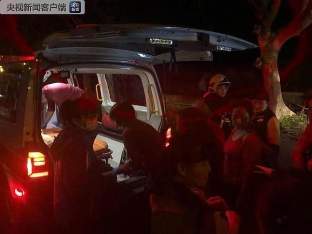 10名四川游客在台湾花莲车祸中受轻伤 均无大碍