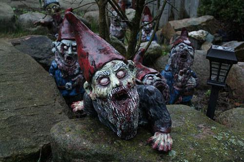 僵尸矮人来袭!这可不是收留白雪公主的小矮人