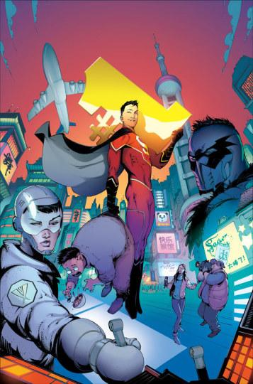 首位中国超人亮相DC漫画宇宙