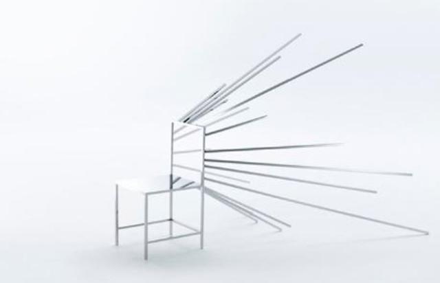 以真乱假!设计师制二次元漫画椅
