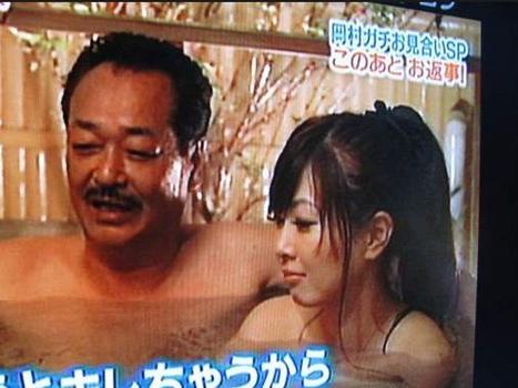 只有日本才有父亲跟女儿一起洗澡的习俗